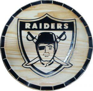 Oakland Raiders Barrel Tops