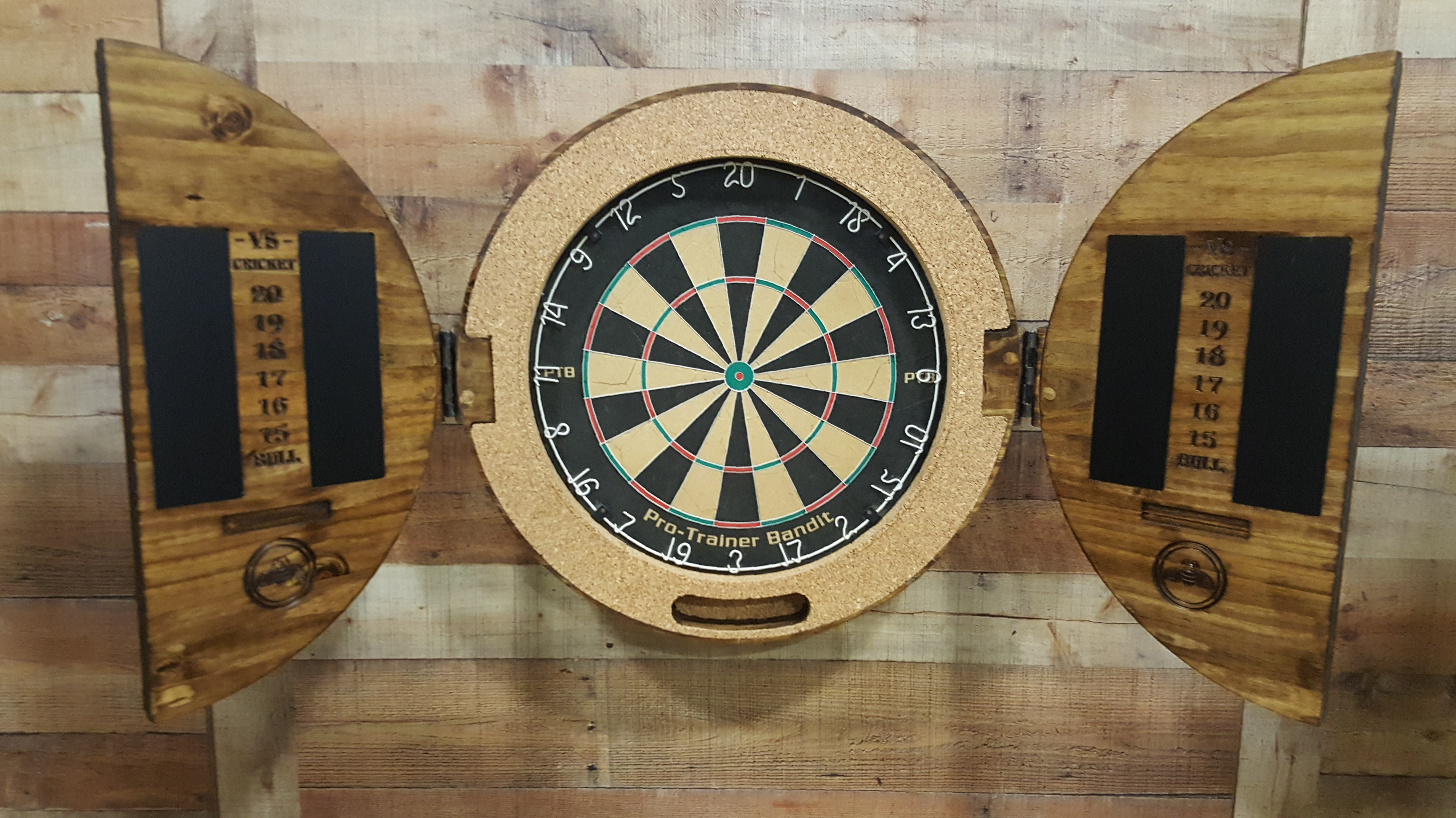 Custom Dartboard Cabinets