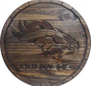 Denver Broncos Barrel Tops