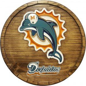 Miami Dolphins Barrel Tops