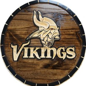 Minnesota Vikings Barrel Tops