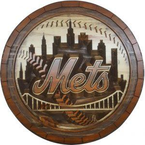 New York Mets Barrel Tops
