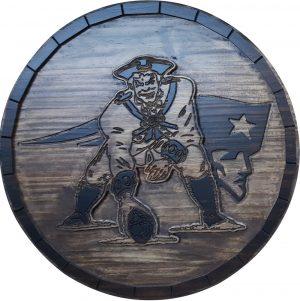 New England Patriots Barrel Tops