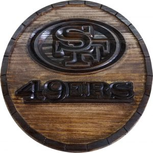 San Francisco 49ers Barrel Tops