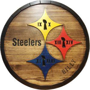 Pittsburgh Steelers Barrel Tops