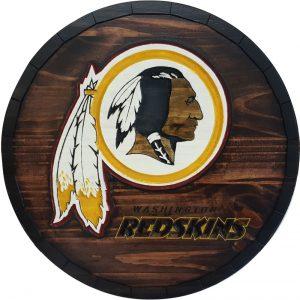 Washington Redskins Barrel Tops