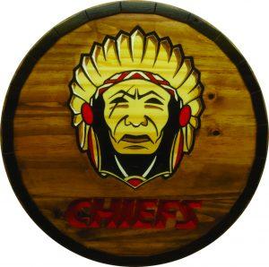 Kansas City Chiefs Barrel Tops
