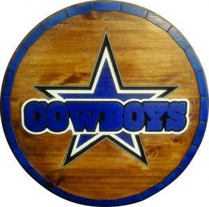 Dallas Cowboys Barrel Tops